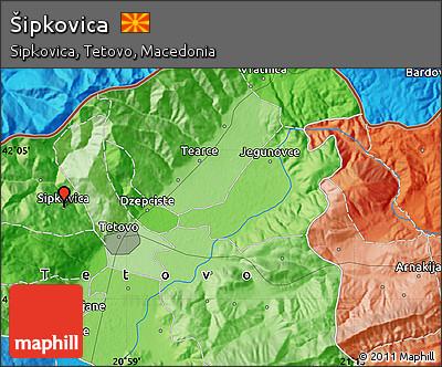 Political Map of Šipkovica