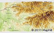Physical 3D Map of Gyueshevo