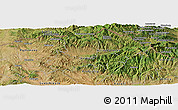 Satellite Panoramic Map of Dlga