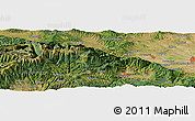 "Satellite Panoramic Map of the area around 42° 9' 30"" N, 23° 52' 30"" E"