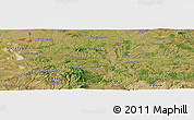 "Satellite Panoramic Map of the area around 42° 9' 30"" N, 26° 25' 29"" E"