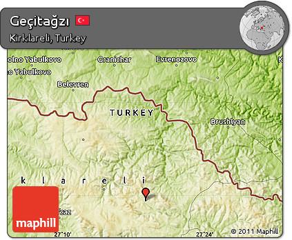 Free Physical Map of Geçitağzı