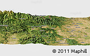 "Satellite Panoramic Map of the area around 42° 9' 30"" N, 2° 37' 30"" E"