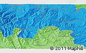 Political 3D Map of Arnedo