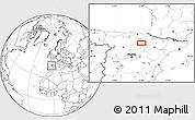 Blank Location Map of Arnedo