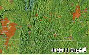Satellite Map of Longmeadow
