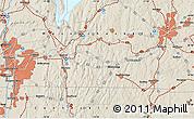 Shaded Relief Map of Longmeadow