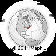 Outline Map of Longmeadow, rectangular outline