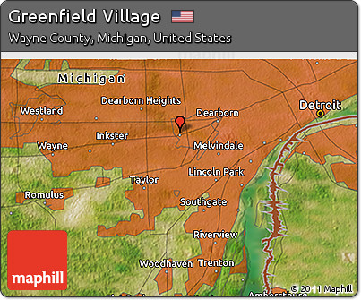 Gallery For Gt Greenfield Village Map