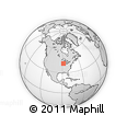 """Outline Map of the Area around 42° 9' 30"""" N, 88° 19' 29"""" W, rectangular outline"""
