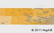 """Political Panoramic Map of the area around 42°9'30""""N,88°19'29""""W"""