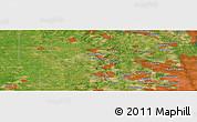 "Satellite Panoramic Map of the area around 42°9'30""N,88°19'29""W"