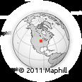 Outline Map of Onawa, rectangular outline