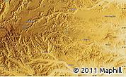 Physical Map of Danianzi