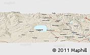 """Shaded Relief Panoramic Map of the area around 42°35'40""""N,11°58'29""""E"""