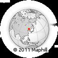 Outline Map of Jinjia, rectangular outline