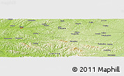 Physical Panoramic Map of Yangmulin