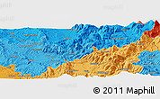 """Political Panoramic Map of the area around 42°35'40""""N,12°49'29""""E"""