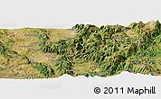 "Satellite Panoramic Map of the area around 42°35'40""N,12°49'29""E"
