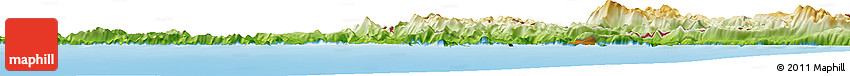Physical Horizon Map of Trebinje