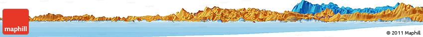 Political Horizon Map of Trebinje