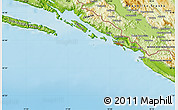 Physical Map of Trebinje