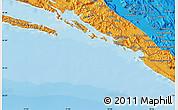 Political Map of Dubrovnik