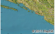 Satellite Map of Dubrovnik