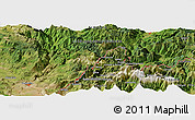 Satellite Panoramic Map of Shoshan