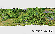 "Satellite Panoramic Map of the area around 42° 35' 40"" N, 22° 10' 29"" E"