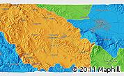 Political 3D Map of Dragomirovo