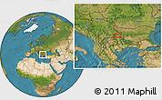 Satellite Location Map of Dragomirovo