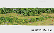 Satellite Panoramic Map of Kiselitsata