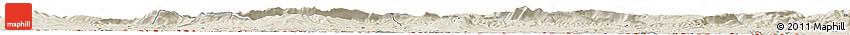 Shaded Relief Horizon Map of Logroño
