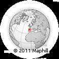 Outline Map of Congosto De Valdavia, rectangular outline