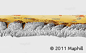 Physical Panoramic Map of Këk-Dzhar