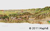 "Satellite Panoramic Map of the area around 42°35'40""N,75°43'29""E"