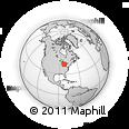 Outline Map of 1523 Elgin St, rectangular outline