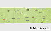 """Physical Panoramic Map of the area around 42°35'40""""N,93°25'30""""W"""