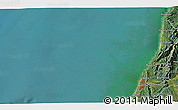Satellite 3D Map of Greymouth