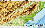 Physical 3D Map of Kaikoura