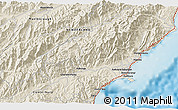Shaded Relief 3D Map of Kaikoura