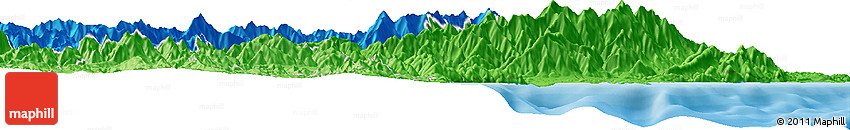 Political Horizon Map of Kaikoura