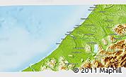 Physical 3D Map of Hokitika