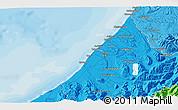 Political 3D Map of Hokitika