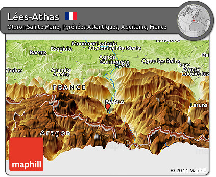 Athas World Map.Free Physical Panoramic Map Of Lees Athas
