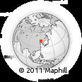 Outline Map of Liujiazilinchang, rectangular outline