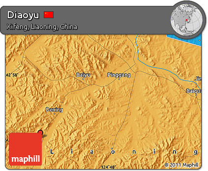 Political Map of Diaoyu
