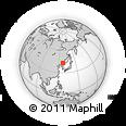 Outline Map of Jiapigou, rectangular outline