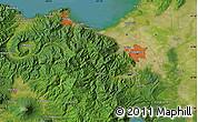 Satellite Map of Sapporo